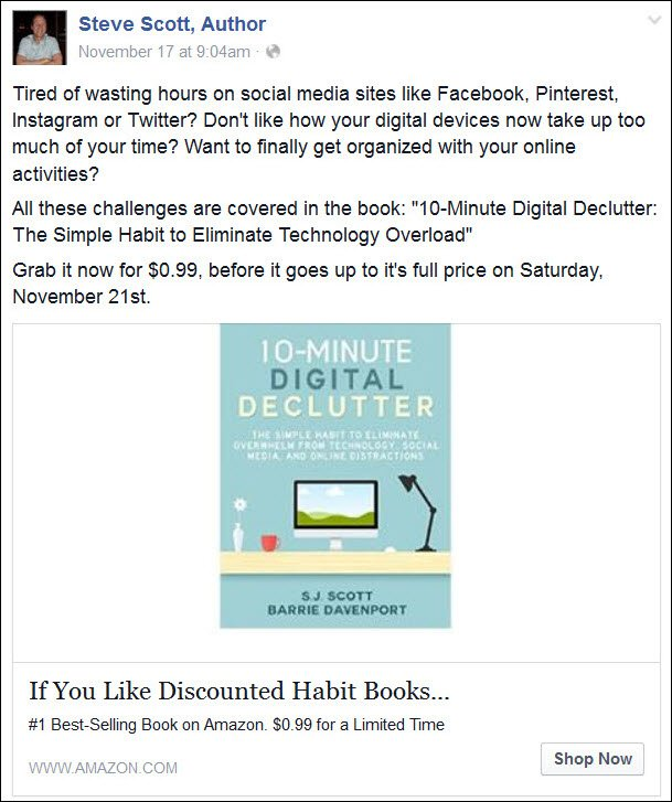 How to launch a book the 5 day plan that works facebookad malvernweather Gallery