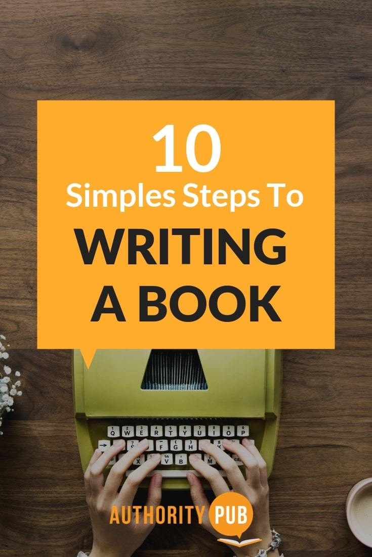 Use these ten steps to writing a book. #writing #writingtips #writingcommunity #writingprompts #writinginspiration #author #amwriting #selfpublishing