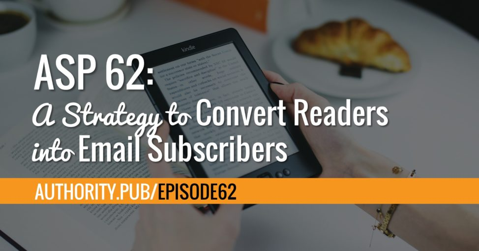 Steve's shares his current email marketing strategies and how he plans to test new ones