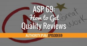 Here's why reviews matter and how to make it easier for your readers to leave reviews.