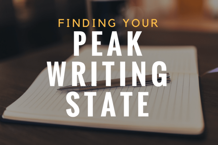 How to Find Your Peak Writing State