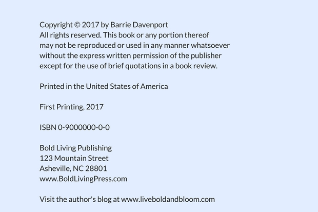 How To Copyright A Book