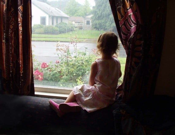 Girl at window, journal prompts