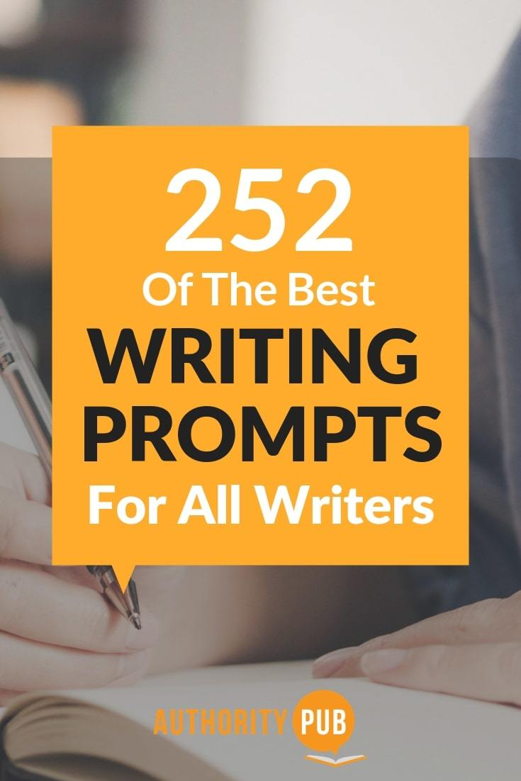 Here are 252 Writing Prompts to Inspire Your Book Ideas. fantasy writing prompts | daily writing prompts | fiction writing prompts | creative writing prompts | #writing #writingtips #writingcommunity #writingprompts #writinginspiration #author #amwriting #selfpublishing
