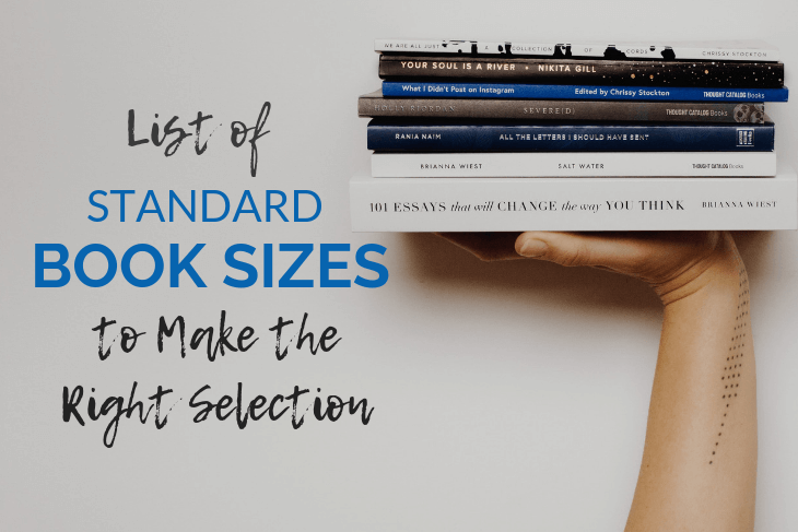 Standard Book Sizes