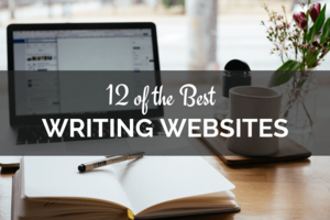 computer and book, best writing websites