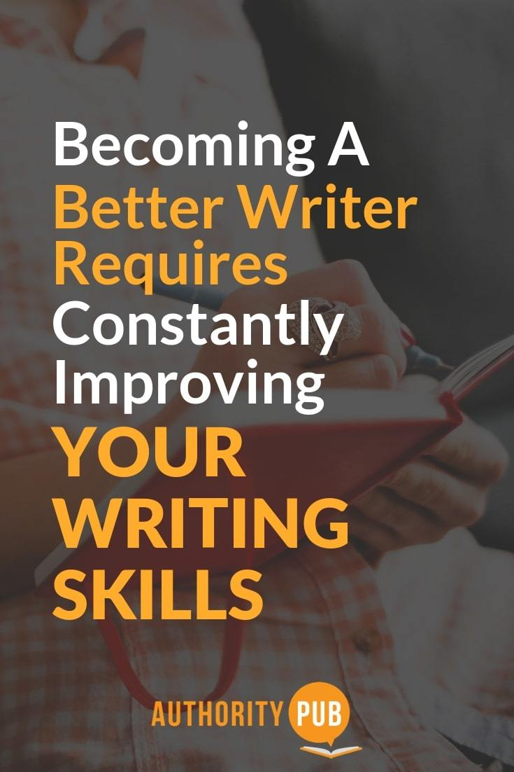 Learn how to become a better writer with these useful tips #writing #writingtips #selfpublishing
