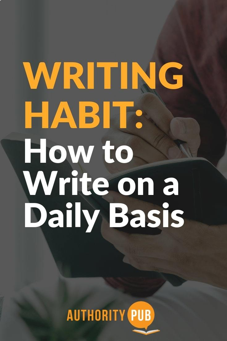 Learn the best tips on how to write on a daily basis and improve your craft and earn an income with your words #writing #writingtips #selfpublishing
