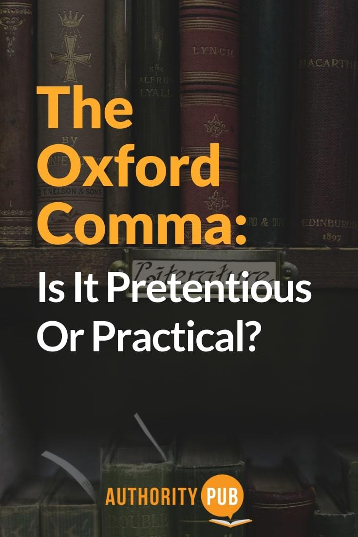 Read on to learn what an oxford comma is and how or when to use them #writing #author #selfpublishing