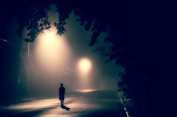 man alone, writing inspiration