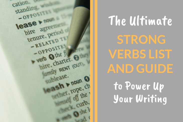 Strong Verbs List