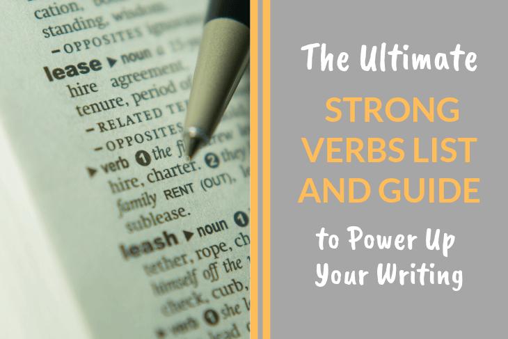 Strong Verbs List