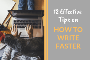 How To Write Faster