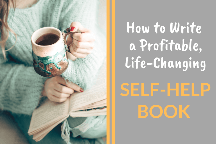 woman reading, how to write a self-help book