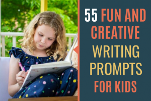 For the kids in your life who love to write, check out these 55 writing prompts for kids to help them keep writing.