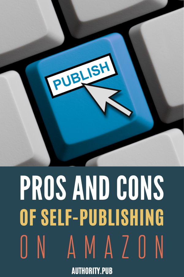 What are the pros and cons when you want to enter the self-publishing field? If you want to know more of these pros and cons, check out this post.