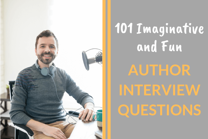 podcasting, author interview questions