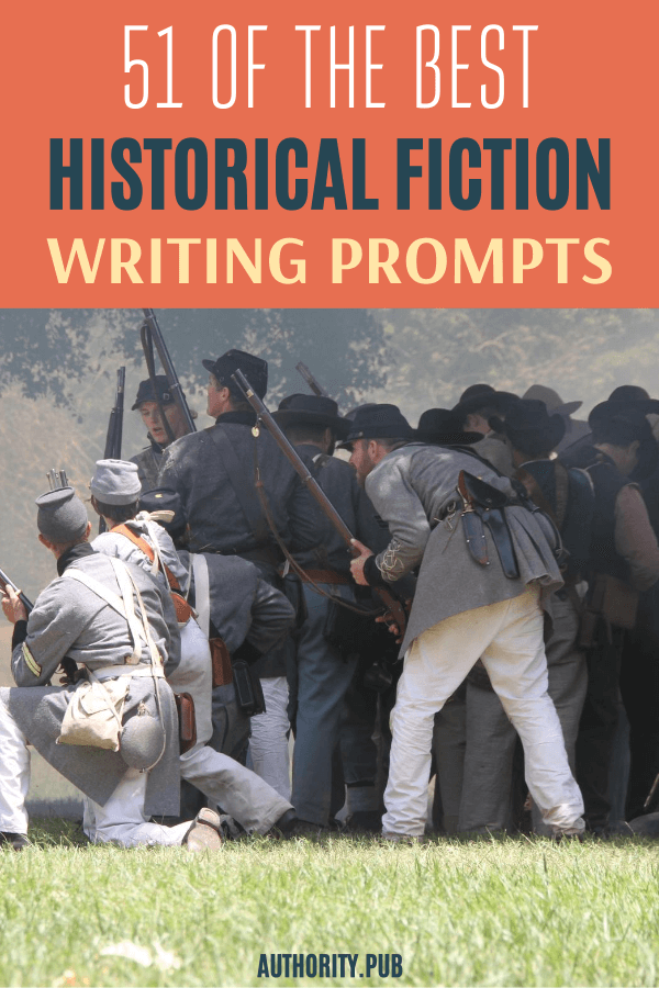 Want some writing ideas for historical fiction? Check this list of helpful historical fiction writing prompts that will inspire your writing.