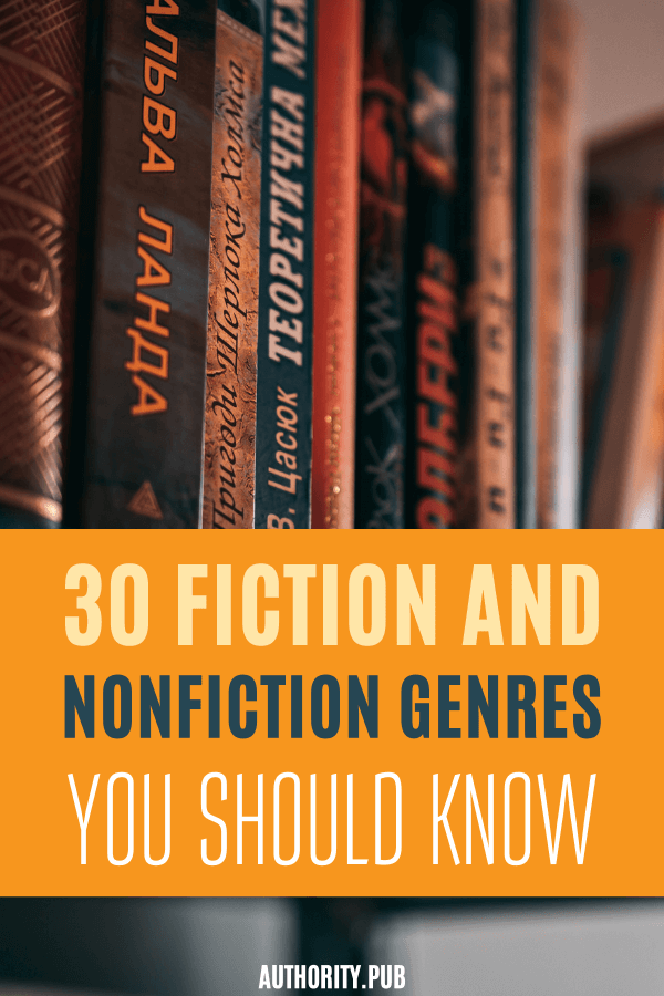 What are the different book genres? Read this post and identify the different fiction and nonfiction genres you should know.