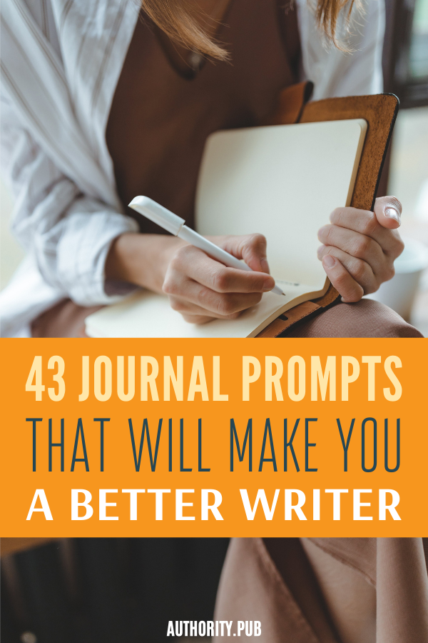 If you want to become a better writer, you need practice to enhance your creativity and writing a daily journal definitely helps. Use these 43 daily journal prompts to strengthen your writing skills and overcome writer's block.