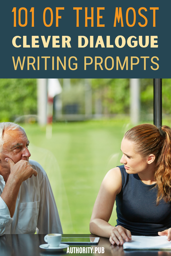Sometimes, the best way start a novel is with a stirring piece of dialogue. Check out our collection of interesting dialogue writing prompts.