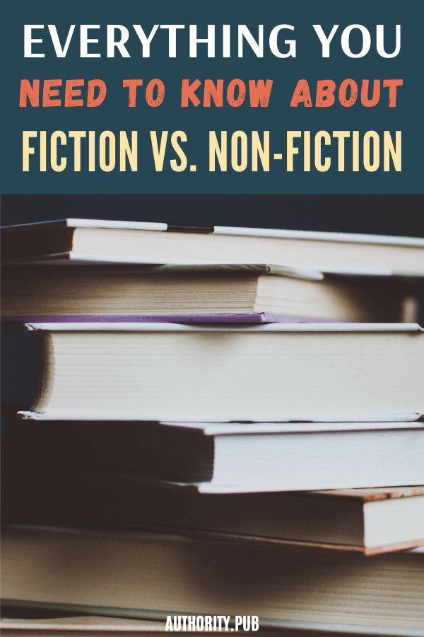 Fiction and nonfiction books belong in different genres for a reason. But a fictional story doesn't have to be 100% based on imagination, nor does every piece of nonfiction have to be dry and unimaginative. #fiction #writing #books