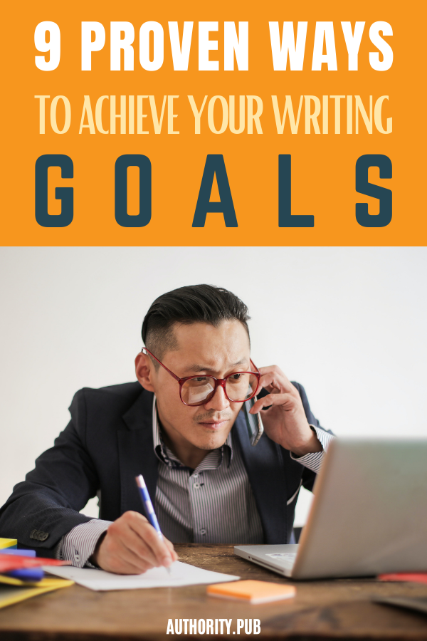 Want to know how to achieve your goals? These strategies will make help you stay on track to accomplish your writing goals.