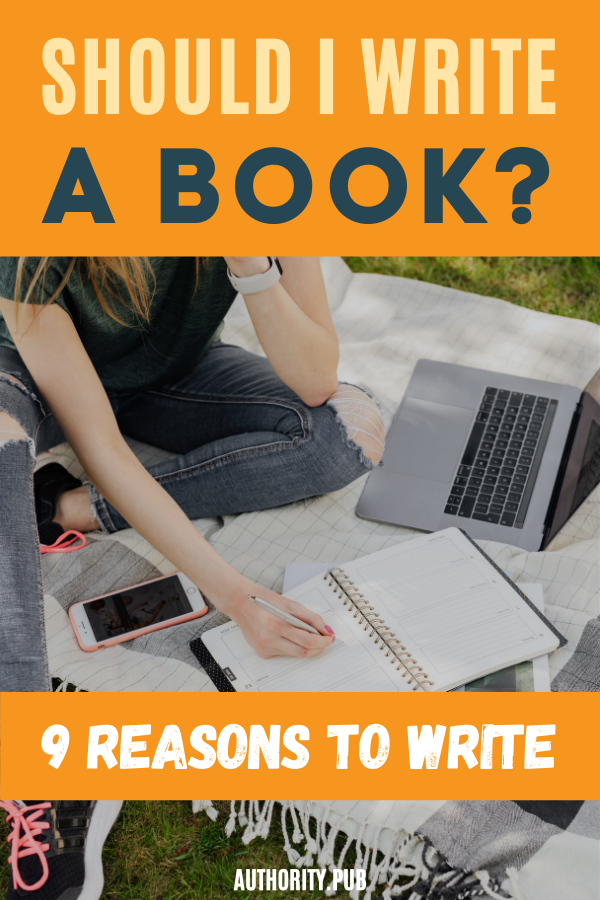 """Before you begin a book project, you need to be able to answer the question, """"Why do you write? """"While you're at it, answer the question, """"Why does the idea of writing a book interest you enough to make you want to read this article?"""" #writing #writer #book"""