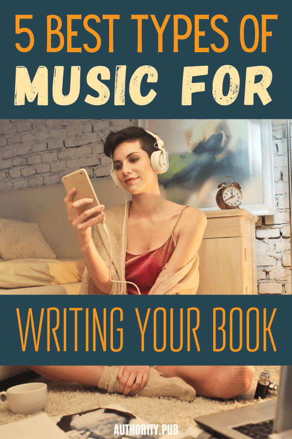 Is there such a thing as the best music for writing? If you're a writer, you probably have some idea of the kind of music that helps you get words on the page more efficiently or that helps you be more creative while you're writing. #writing #writingabook #books