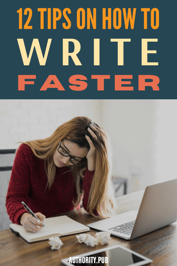 Would you like some practical tips on how to write faster? Of course, you would. Who in the writing community wouldn't love to get more writing done in less time? Fast writing means more time to spend with family and friends, more time to explore new creative outlets, and more time to read, among other things. #writingtips #writer #writing
