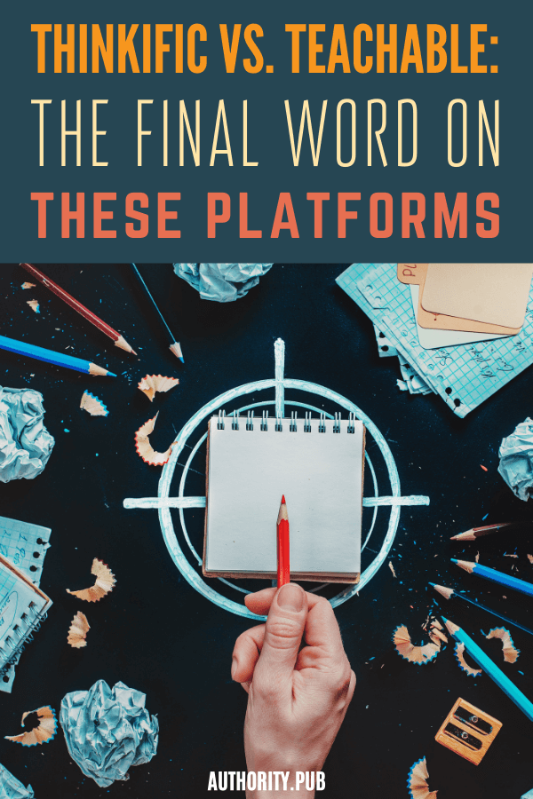 As a writer, you may want to develop courses for your readers and followers. If you're trying to decide between Thinkific vs. Teachable, we have you covered with all of the details and pricing on both platforms.