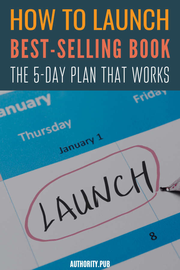 In this post, we'll show you how to launch your book the right way. Discover the 5-day book marketing plan that has sold over 1 million books.