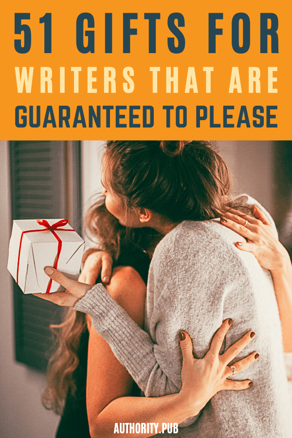 Looking for the perfect gift for the writers in your life? Maybe you've already bought a writing notebook and some pens, but you're looking for something to add to it to make the gift extra special. So, where do you find good gifts for writers — particularly the ones you know? #writers #gifts #write