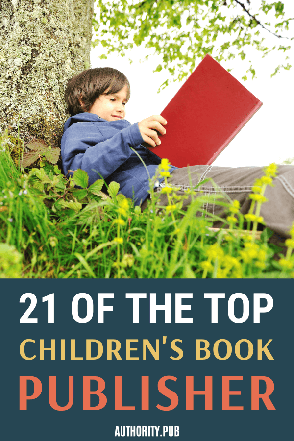 If you are looking for children's book publishers, read on this post as we've curated 21 of the top publishers for children's books.