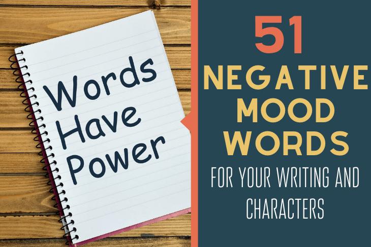 negative mood words